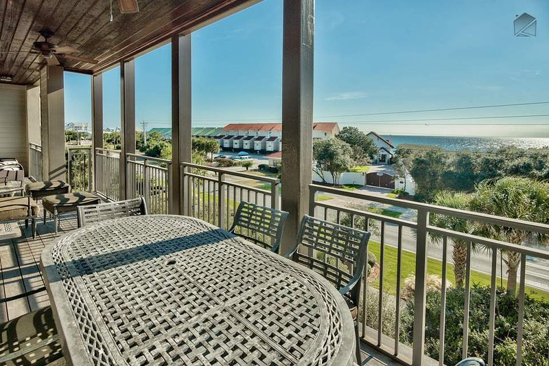 Gulf views as expansive as your giant, private balcony.