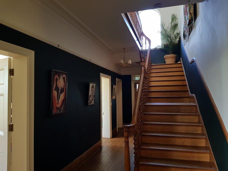 Einer von zwei Treppen