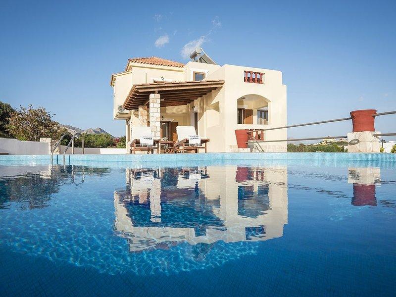 Bluebell Seaview Villa, Tersanas Chania Crete, holiday rental in Tersanas