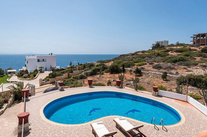 Villa Bluebell, holiday rental in Tersanas