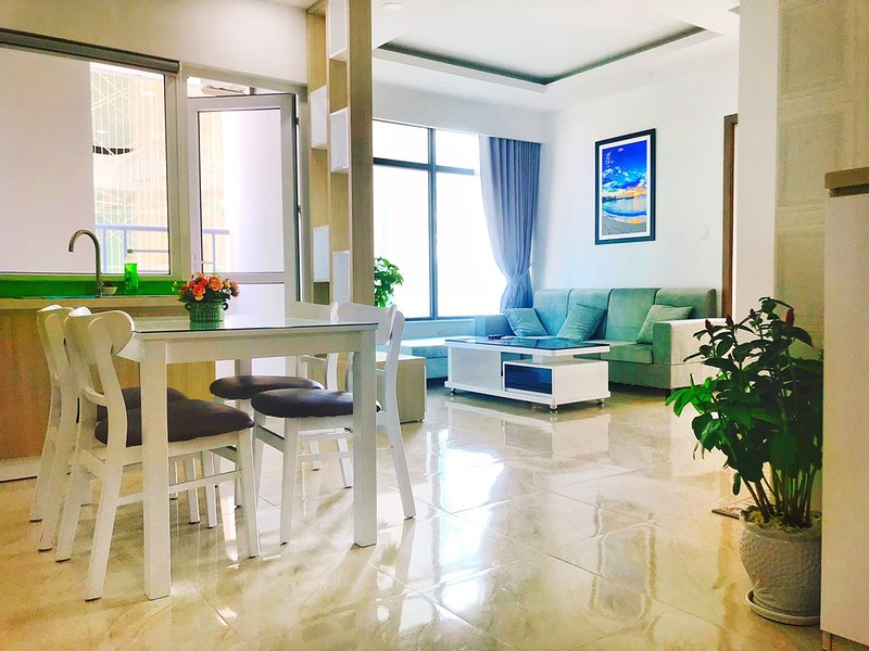 2 Beautiful Beach View bedrooms New Apartment comfortzone, holiday rental in Nha Trang