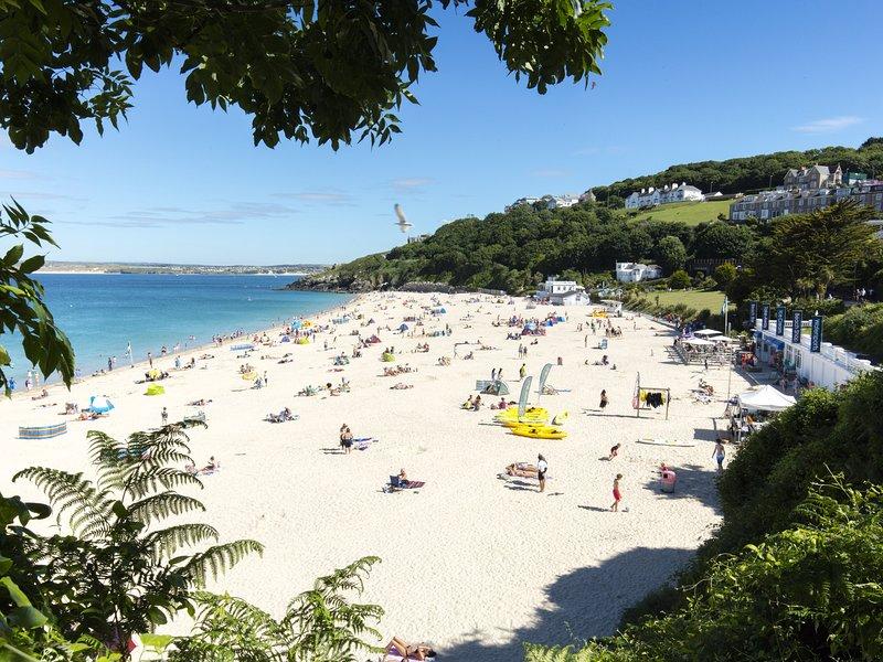 Cerca de la playa de Porthminster - Premio Bandera Azul (Matt Jessop)