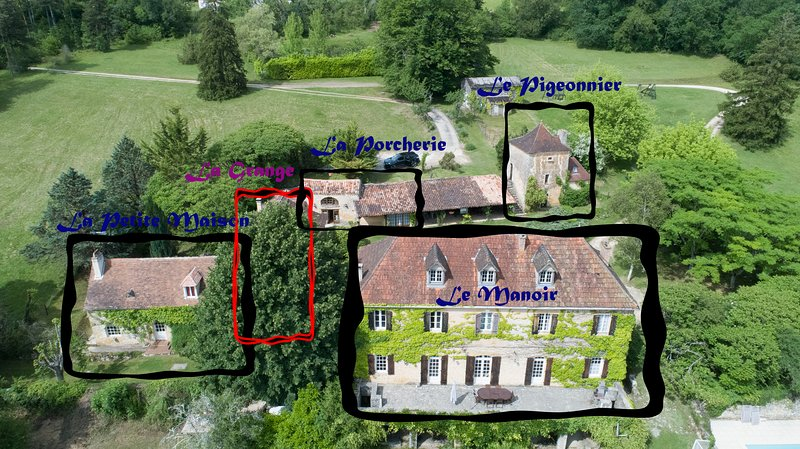 Le Manoir De St. Marcel (All)., holiday rental in Pressignac-Vicq