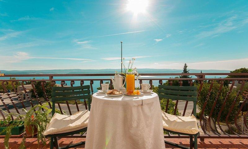 Franka - beautiful sea view & parking: A2(2+2) - Stanici, holiday rental in Stanici