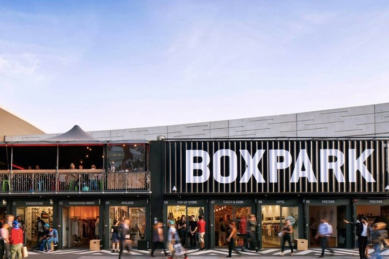 Boxpark is a must when visiting!