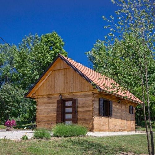 Ferienhaus 4488-2 für 4 Pers. in Rakovica, holiday rental in Rakovica