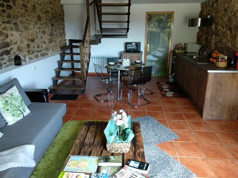 A casiña de Esther, alquiler vacacional en A Estrada