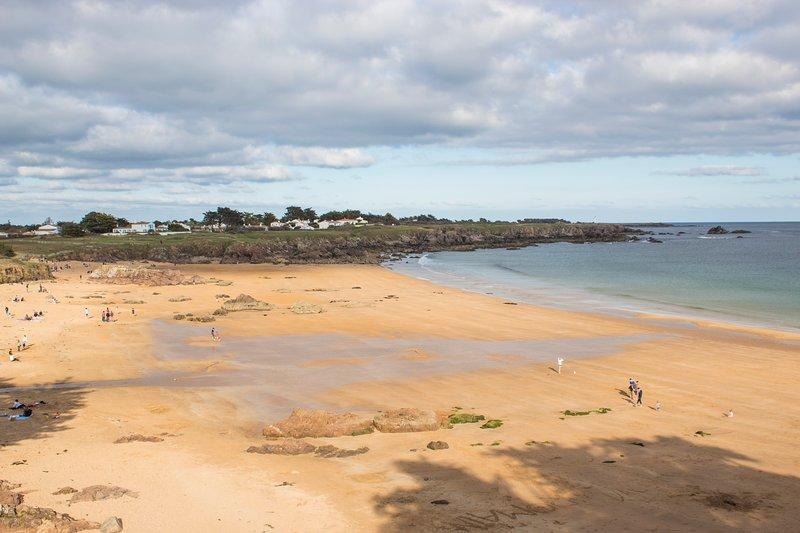 playa familiar de 3 minutos a pie de forma segura y monitoreada