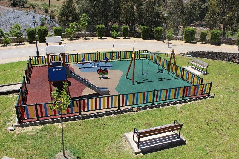 giardino per bambini a urbanizzazione