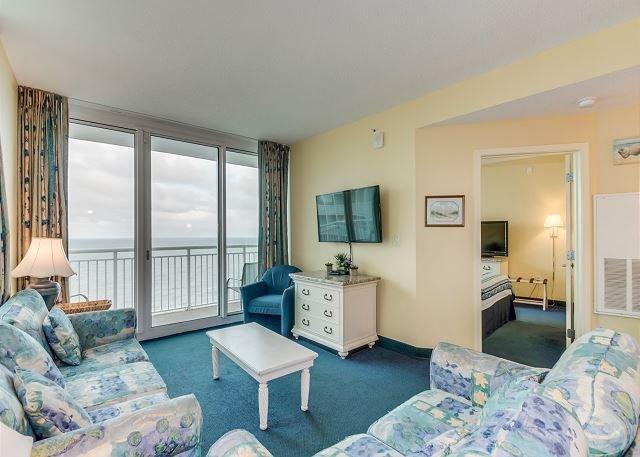 Sala de estar frente al mar