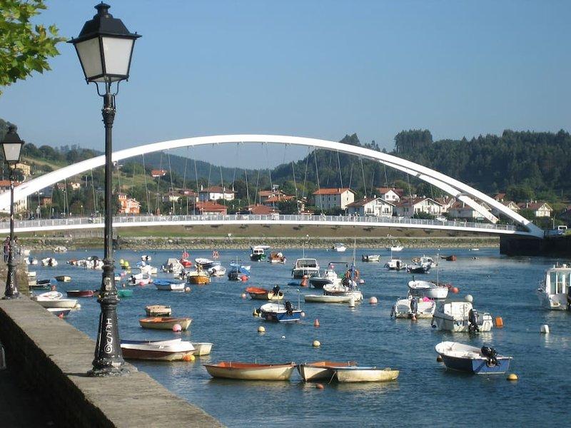 Walk along the estuary of Plentzia.
