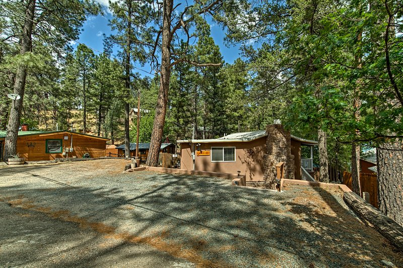 Reconnect with each other and nature at 'The Lonesome Wolf' in Ruidoso.