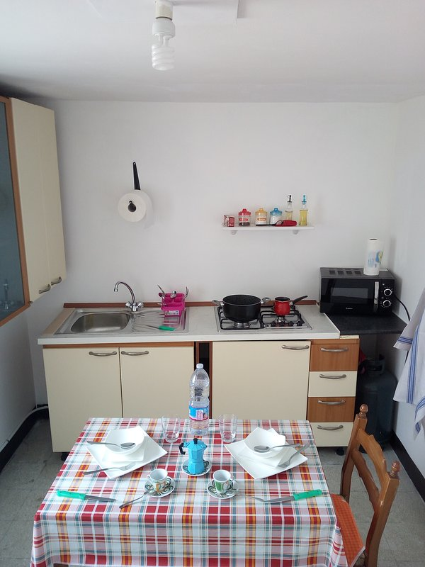 Private immobiliato Apartment first floor (it also rents the ground floor) located in N. Tommas