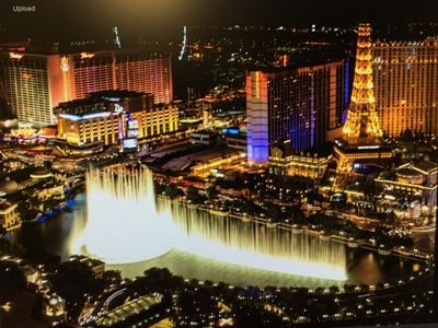 Vdara Studio 52nd floor Bellagio Fountains NO RESORT FEES AND FREE
