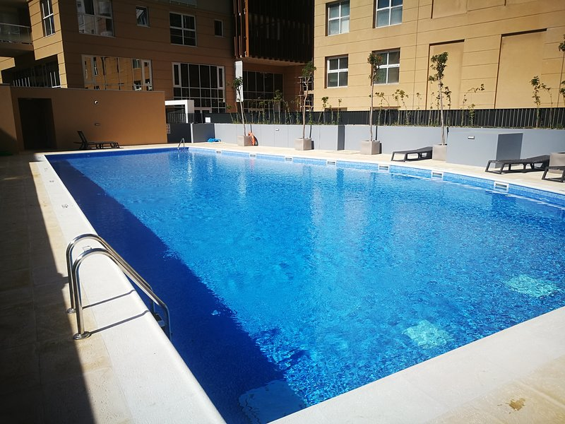 Communal swimming pool exclusive for WestOne residents