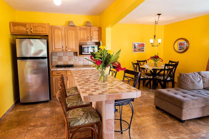Många gäster njuter av en trevlig frukost hemma innan de går ut för dagen att utforska!