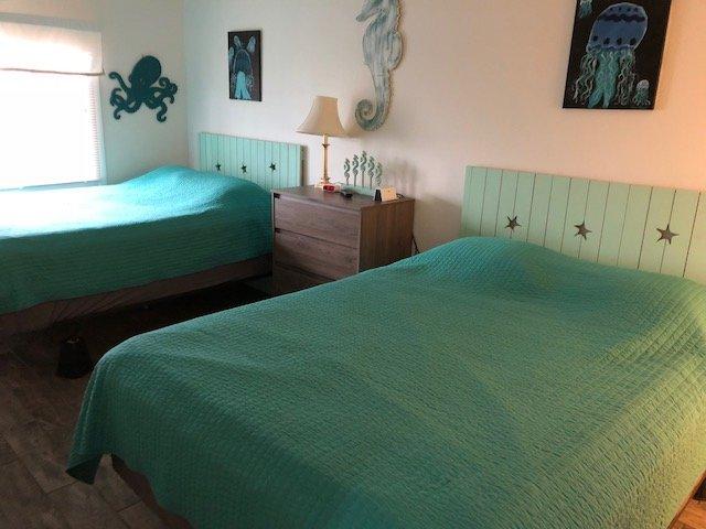Bedroom #2:  (Two) Queen beds with TV