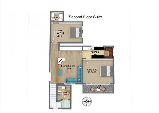 Suite del segundo piso