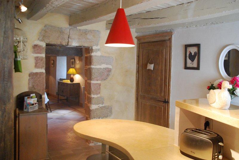 Location gite de caractère centre historique d'Autun, holiday rental in La Tagniere
