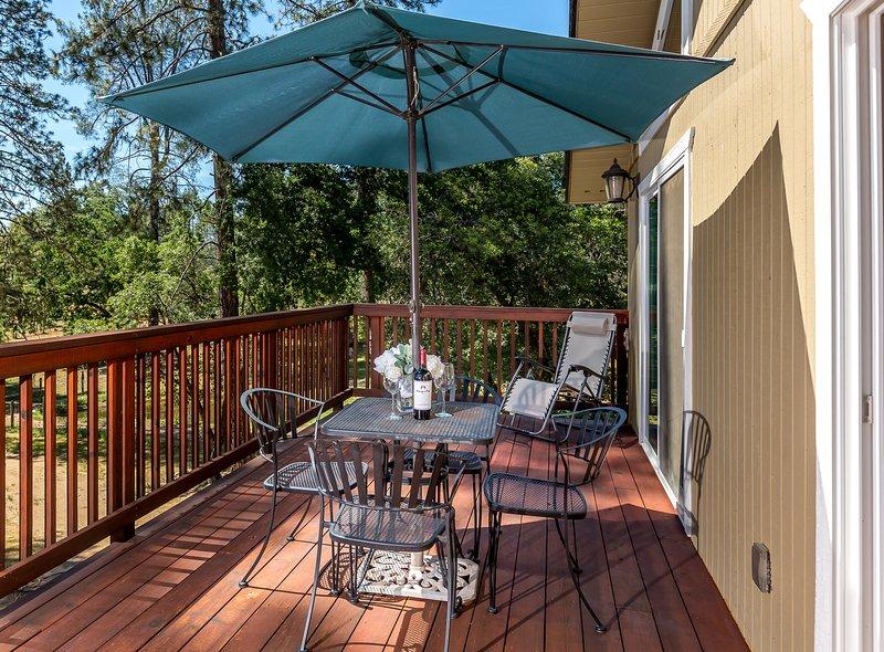 third floor master suite private balcony/deck