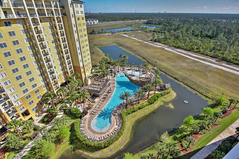 Endless entertainment awaits at Lake Buena Vista Resort Village.