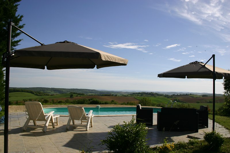 Domaine de Polfages - just for you and your family near Carcassonne & Mirepoix, casa vacanza a Gaudies