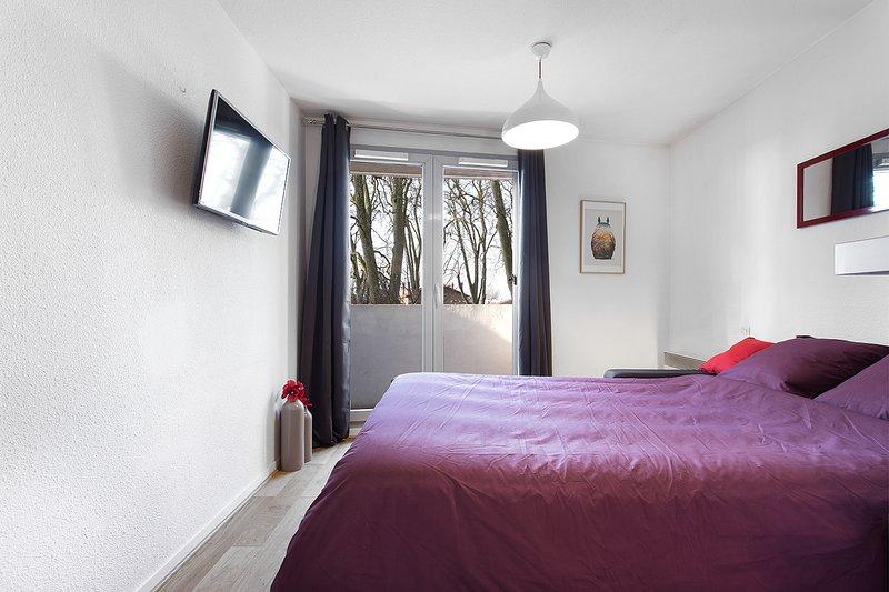 Le Brienne Toulouse Centre ! Confort, View & Free Parking, alquiler de vacaciones en Toulouse