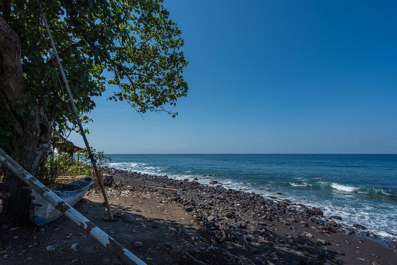 Playa de los pescadores de bungalows situado cerca