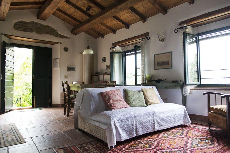 Appartamento il Coccodrillo vivere la natura e il relax, casa vacanza a Vicchio