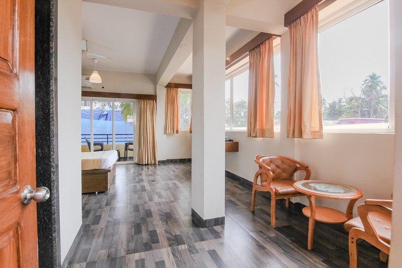 Mayrah Inn(Royale Nirvana Resort Baga)Room1, vacation rental in Nagoa