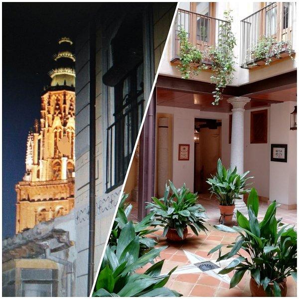 Ansichten Kathedrale und Patio Toledano