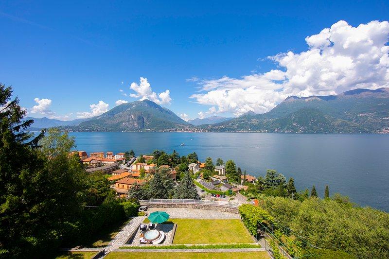 Vue imprenable sur le lac de Côme Villa terrasse Perledina