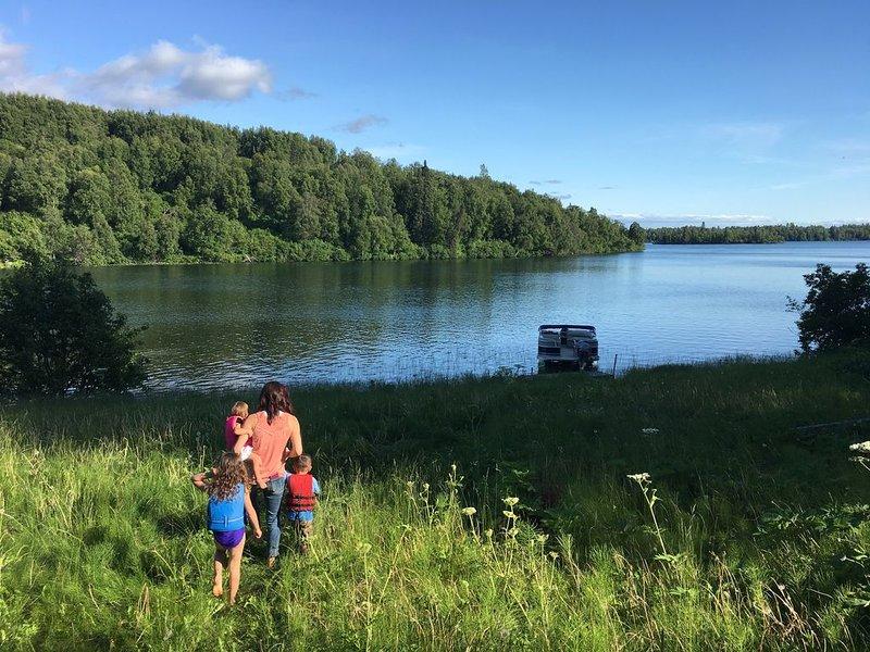 The Lake House, alquiler vacacional en Nikiski