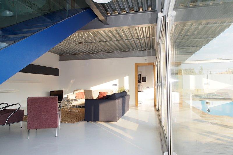 Casa BlancadeNavarra. Diseño y exclusividad para unas vacaciones de ensueño, location de vacances à Tarazona