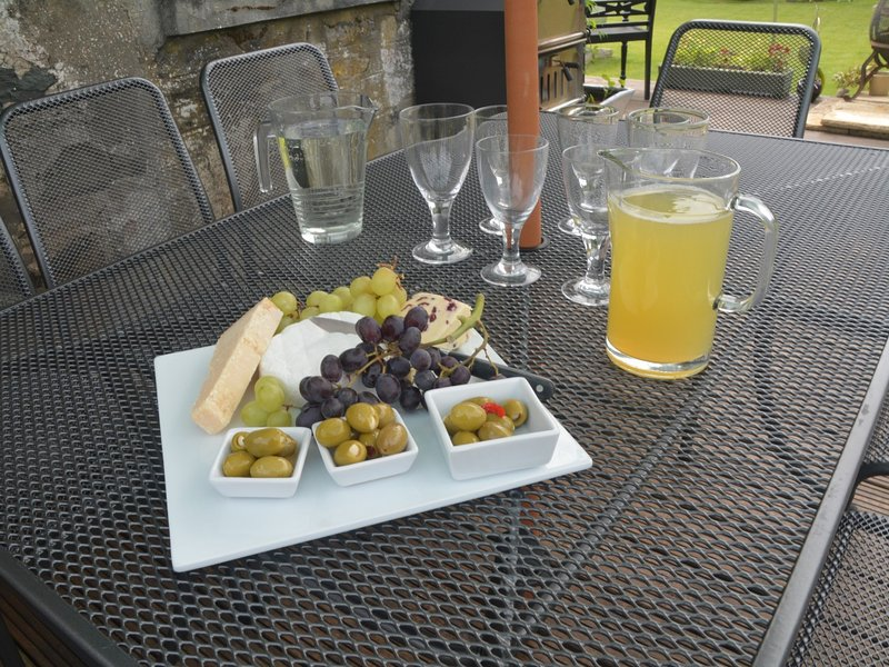 Desfrute de refeições ao ar livre