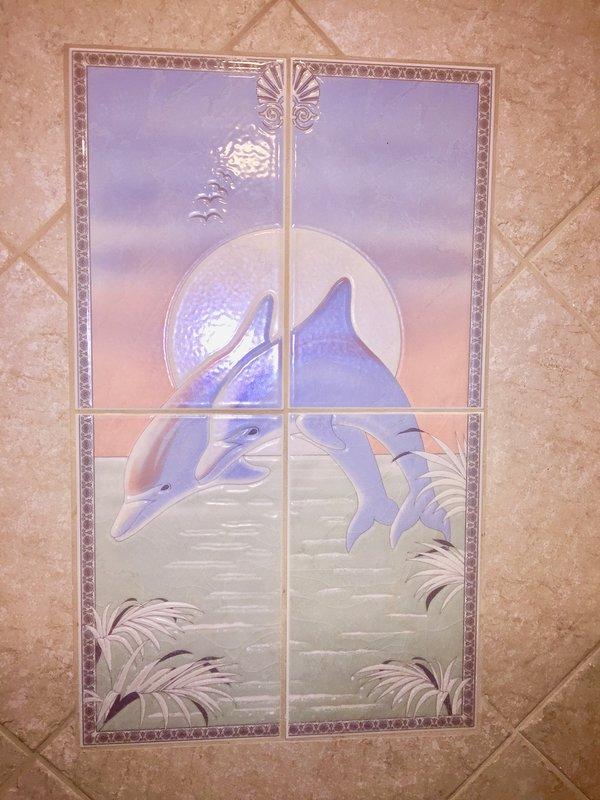 Shower Tile Mosaic