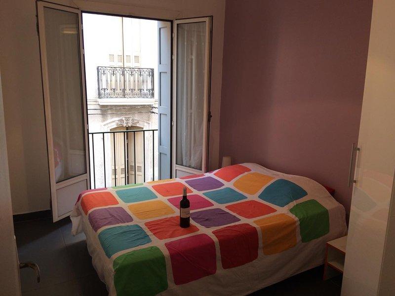 1br - lovely1 bedroom flat short let centre of perpignan south france (perpignan, holiday rental in Baho
