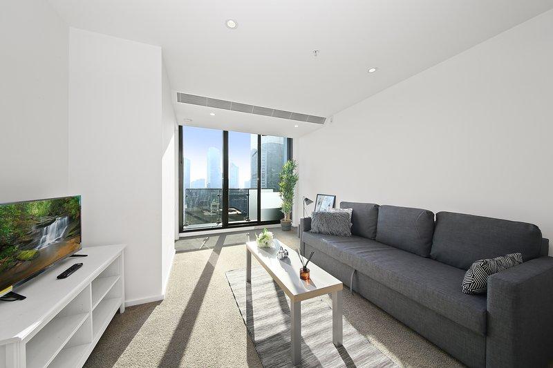 A spacious & comfy living area.