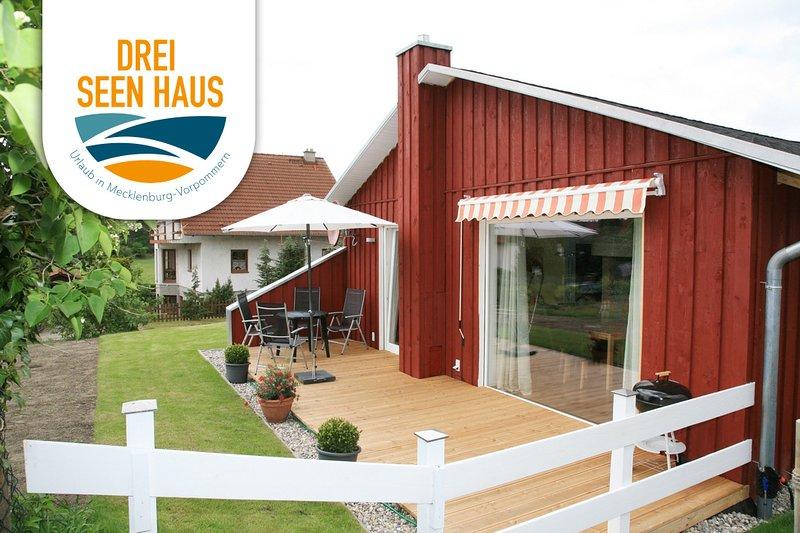 Drei Seen Haus am Großen Fürstenseer See bei Neustrelitz, holiday rental in Hohenzieritz