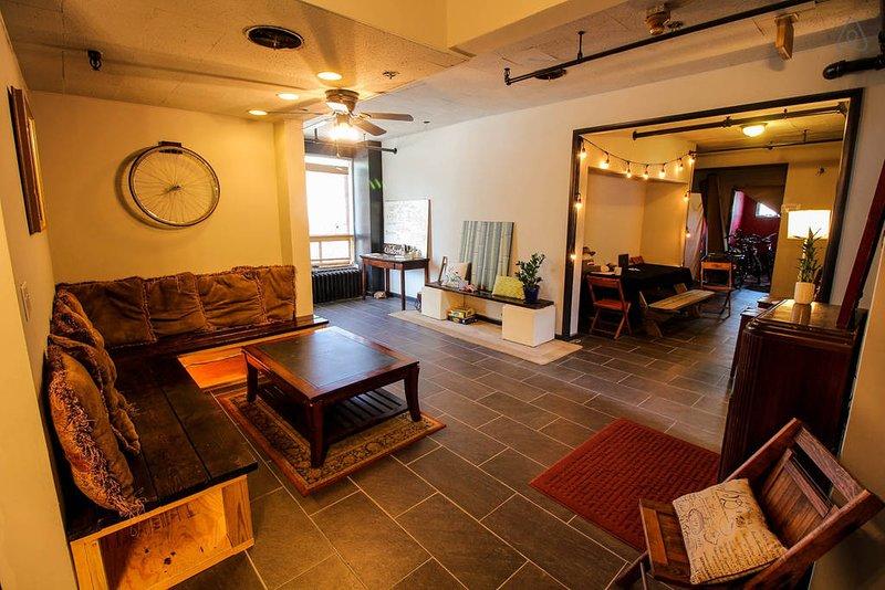 El área común renovada para mantenerte lo más relajada posible.