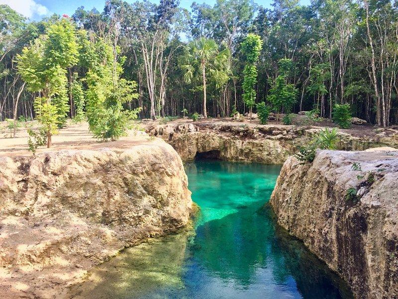 Cenote (Natural pool)