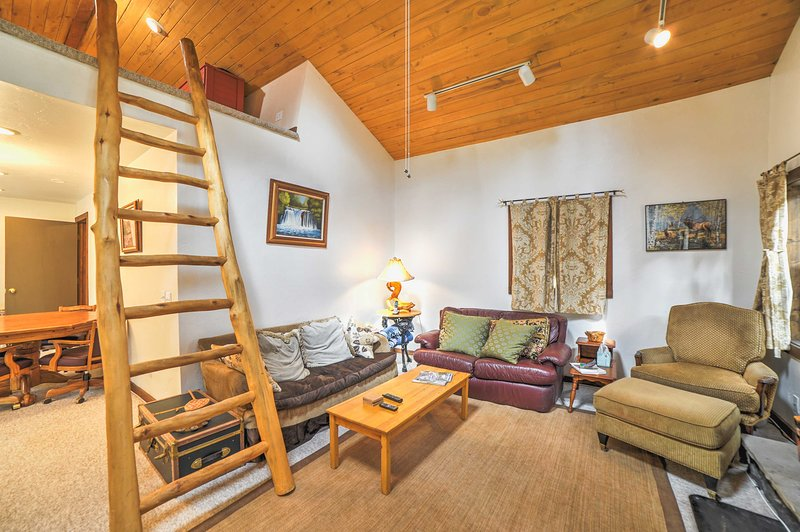 Just imagine yourself lounging in this cozy Dolores vacation rental home!