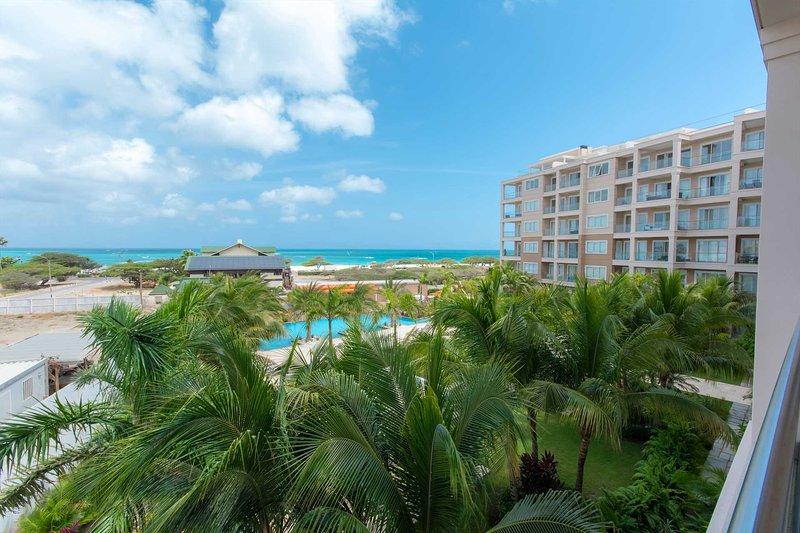 Willkommen in Ihrem Serenity by the Sea Drei-Zimmer-Wohnung in Levent Beach Resort Aruba