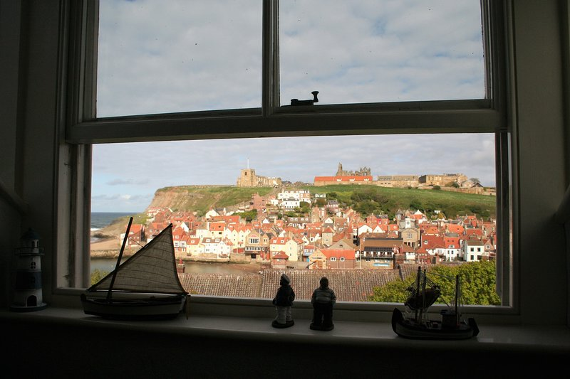 View over Whitby from the galleried landing