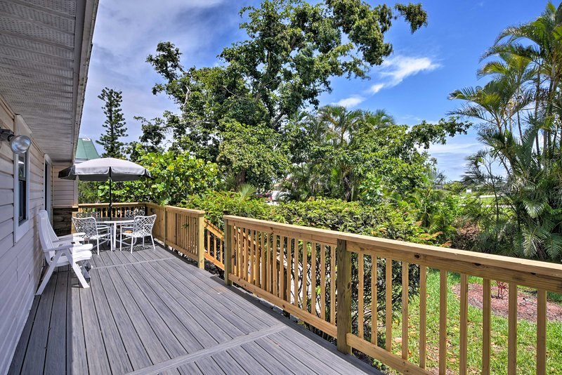 Enjoy island living at this 3-bedroom, 2-bathroom vacation rental home.