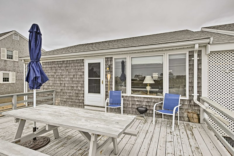 Book your West Dennis escape to this 3-bedroom, 1-bath vacation rental cottage!