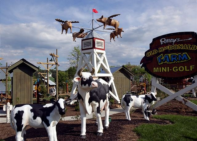 Ferme Mini-Golf de Ripley Old MacDonald