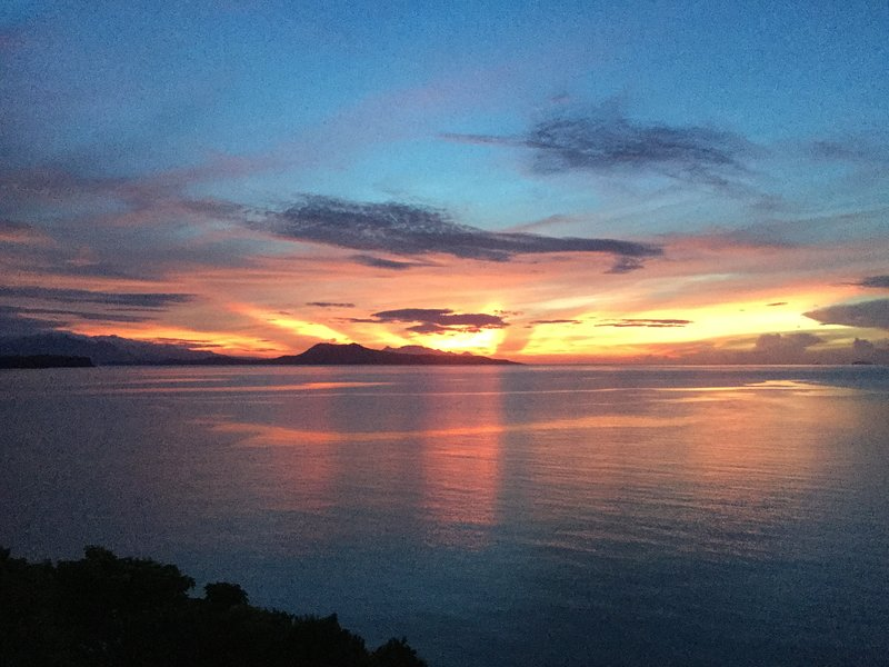 Sunrise from the yogaruimte