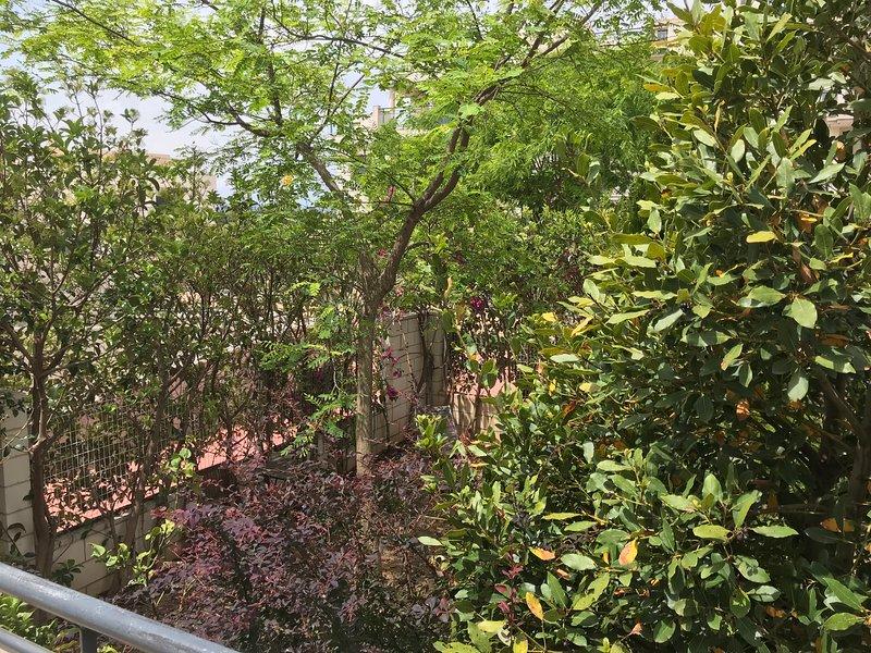 Bajo con jardin y terrazas privadas, location de vacances à Domeno
