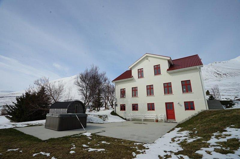 Karlsá Lodge – semesterbostad i Olafsfjordur